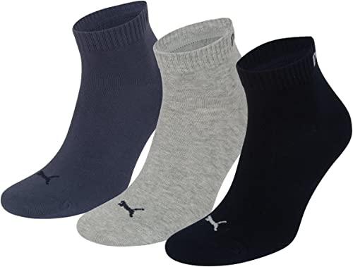 Puma Quarter Sock (3 Pairs)