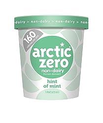 Arctic Zero, Non-Dairy Desserts, Hint of Mint, 16 oz (Frozen)