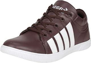Kraasa Men's Synthetic Leather Sneaker
