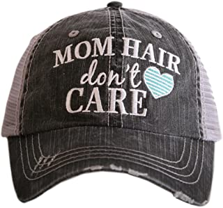 KATYDID Mom Hair Don`t Care Women`s Trucker Hats Caps