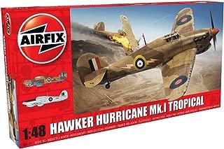 Airfix Hawker Hurricane MK I Tropical 1:48 Military Aircraft Plastic Model Kit