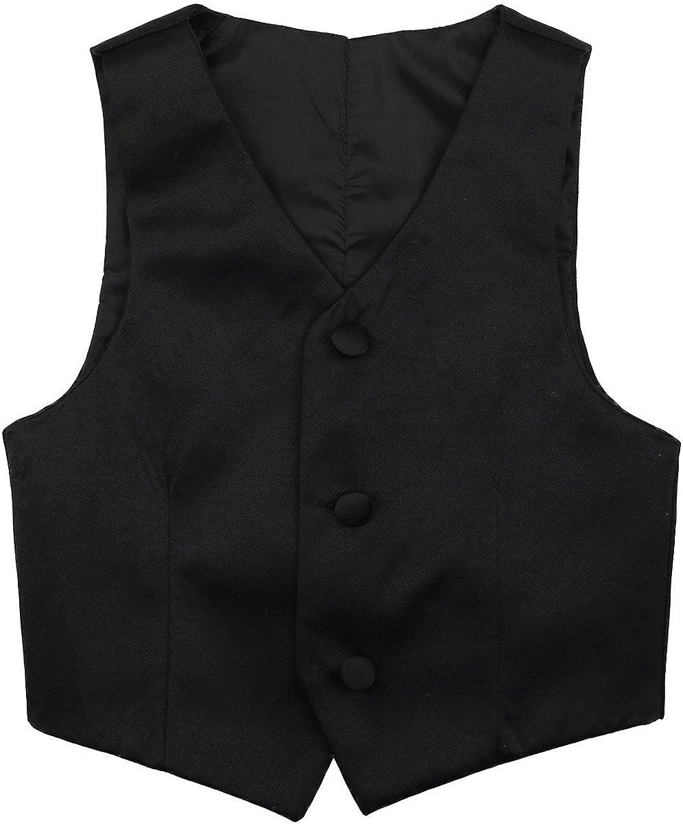 FEESHOW Kids Boys Formal Tuxedo free Wedding Dress Ranking TOP16 Vest Gen Waistcoat