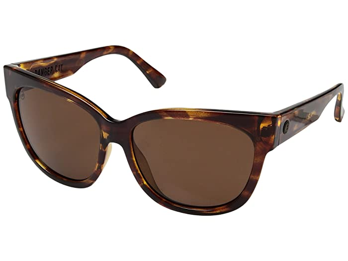 Danger Cat Polarized (Gloss Tortoise/Ohm Bronze) Fashion Sunglasses
