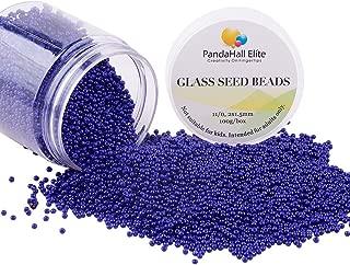 Best dark blue seed beads Reviews