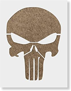 punisher skull stencils for airbrushing