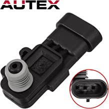 AUTEX 16238399 AS302 Fuel PumpTank Pressure Sensor Vapor Vent (EVAP) Replacement Compatible with Honda Passport/SAAB 9-7X/Hummer H2 & H3/Acura SLX/Saturn Aura/Chevrolet Astro & Aveo5/GMC Canyon
