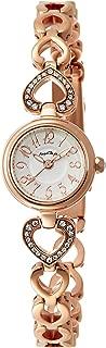 [エンジェルハート] 腕時計 ピンキーハート シルバー文字盤 スワロフスキー ステンレス(PGPVD) ベルト PH19BRPG ゴールド