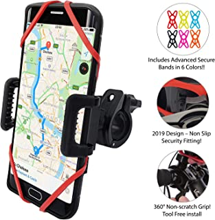 featured product TruActive - New Premium Edition! - Anti-Shake Universal Bike Phone Holder Mount for Bicycle, Mountain Bike, Motorcycle, ATV - 360° Rotate – iPhone. Samsung, Huawei, Google, etc. - 6 Colors Included!