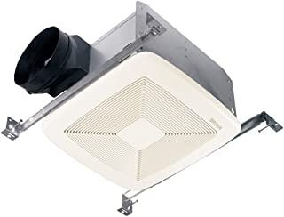 Broan-Nutone QTXE110 Ultra-Silent Ventilation Exhaust Fan for Bathroom and Home, Energy Star® Certified, 0.7 Sones, 110 CFM