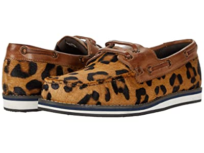 Roper Filly (Tan Leopard Hair on Hide/Burnished Tan Leather Accents) Women