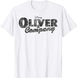 Oliver & Company Black Movie Logo T-Shirt