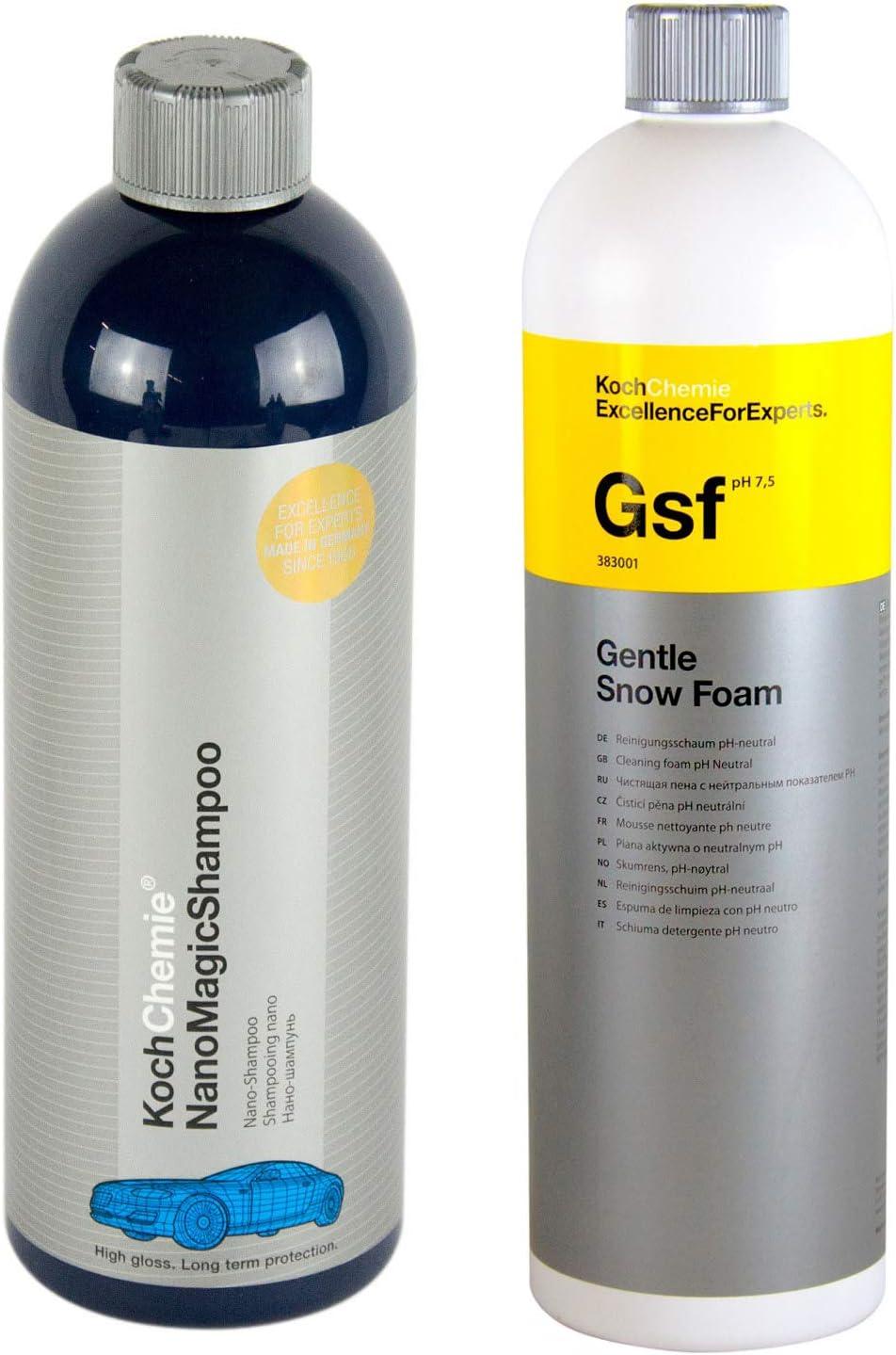 Koch Chemie Nano Magic Shampoo 750 Ml Gsf Gentle Snow Foam Shampoo 1 L Liter Auto