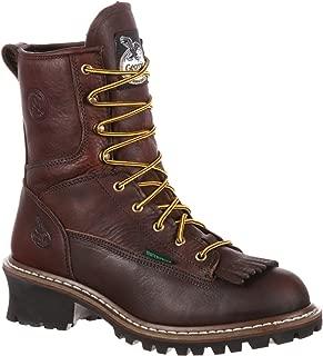 Georgia Men's 8 Inches Steel Toe Waterproof Logger Boot-G7313
