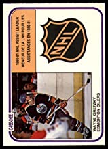 Hockey NHL 1981-82 O-Pee-Chee #383 Wayne Gretzky LL NM Oilers