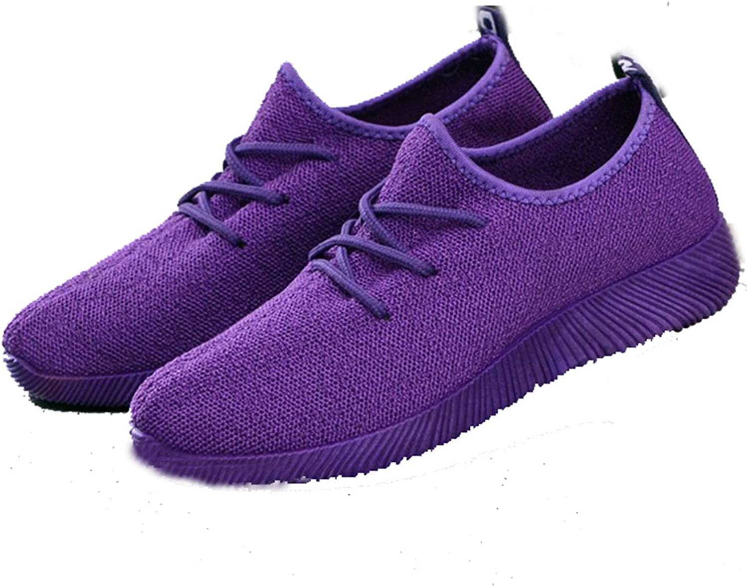 Better Annie Women's Casual Breathable Air Mesh shoes, Lightweight Slip On, Black White Brown Purple Pink Ladies Wlaking shoes, Summer Flats