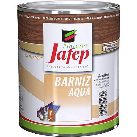 BARNIZ AQUA al agua, acrílico e incoloro 750 ml de JAFEP