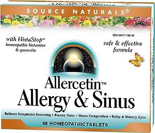 Allercetin Allergy and Sinus Source Naturals, Inc. 48 Tabs