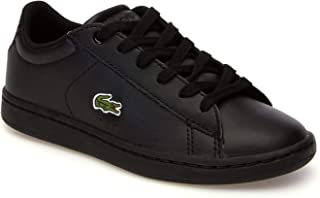 Lacoste Carnaby EVO 118 4 Kids Fashion Shoes, BLK/BLK