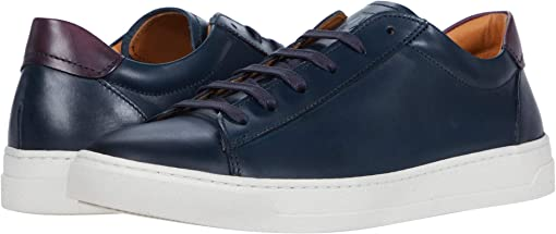 Navy Chile Leather