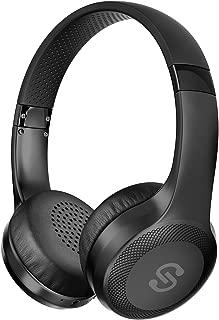 【 ワイヤレス&有線両用】SoundPEATS(サウンドピーツ) A1 Pro Bluetooth ヘッドホン 高音質 ワイヤレス&有線両用 [メーカー1年保証] 最大25時間再生 40mm大口径ドライバー CVCノイズキャンセリング搭載 マイク付き ハンズフリー通話 ブルートゥース ヘッドホン Bluetooth イヤホン ワイヤレスヘッドホン (ブラック)