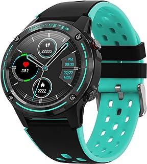 JessFash Reloj Deportivo Reloj Inteligente Presión Arterial y Seguimiento del sueño Sport Fitness Tracker Actividad Monitor de frecuencia cardíaca Cronómetro de natación Impermeable