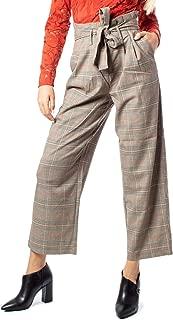 VILA CLOTHES Luxury Fashion Womens 14053696BEIGE Beige Pants   Fall Winter 19