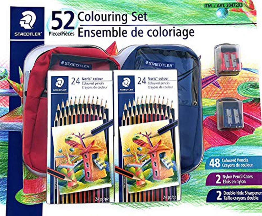 Staedtler 52 Colouring Set Memphis Mall 48 Germany Pencils x - Co 24 Pack 02 In stock