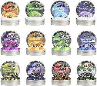 Crazy Aaron's Putty .47 oz Mini Tin Assortment - 12 Pack