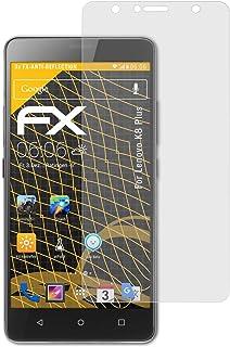 atFoliX Skärmskydd är kompatibel med Lenovo K8 Plus Skyddsfilm, antireflekterande och stötdämpande FX Film (3X)