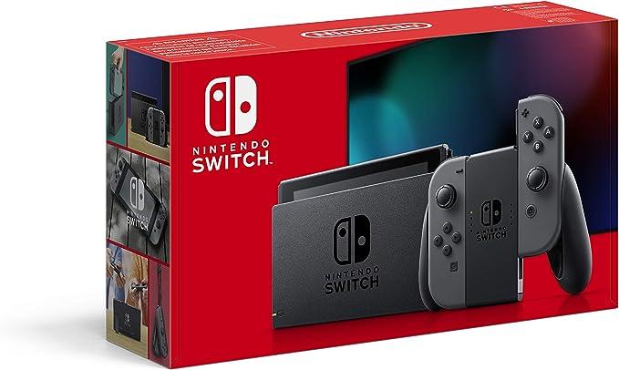 Amazon.nl-Nintendo Switch Console, Grijs (Nintendo Switch)-aanbieding