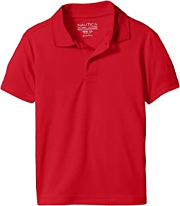 Nautica Kids - Short Sleeve Performance Polo (Big Kids)