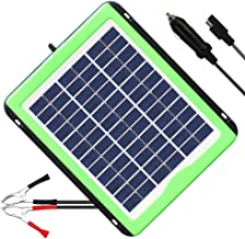 SOLPERK 12V Solar Panel,Solar trickle Charger,Solar Battery Charger and Maintainer, Suitable for Automotive, Motorcycle, Boat, ATV,Marine, RV, Trailer, Powersports, Snowmobile, etc. (5W Solar Panels)