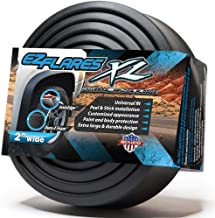 The Original EZ Flares XL Universal Flexible Foam Rubber Fender Flares Trim 2-Inch