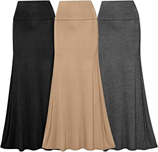Women's Maxi Skirts (Pack of 3)