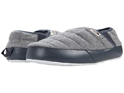 The North Face Thermoball Traction Mule V (TNF Medium Grey Heather/TNF White (Wool)) Women