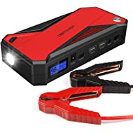DBPOWER 600A 18000mAh Portable Car Jump Starter (up to 6.5L Gas, 5.2L Diesel Engine) Battery...