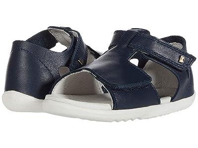 Bobux Kids Step Up Mirror Sandal (Infant/Toddler) (Navy) Girl