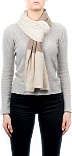 DALLE PIANE CASHMERE - Sciarpa a 3 colori 100% cashmere - Uomo/Donna