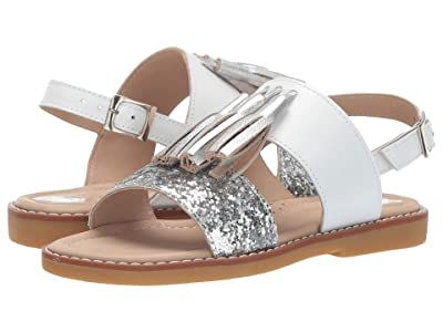 Elephantito Dalia Sandal (Toddler/Little Kid/Big Kid) (White) Girls Shoes