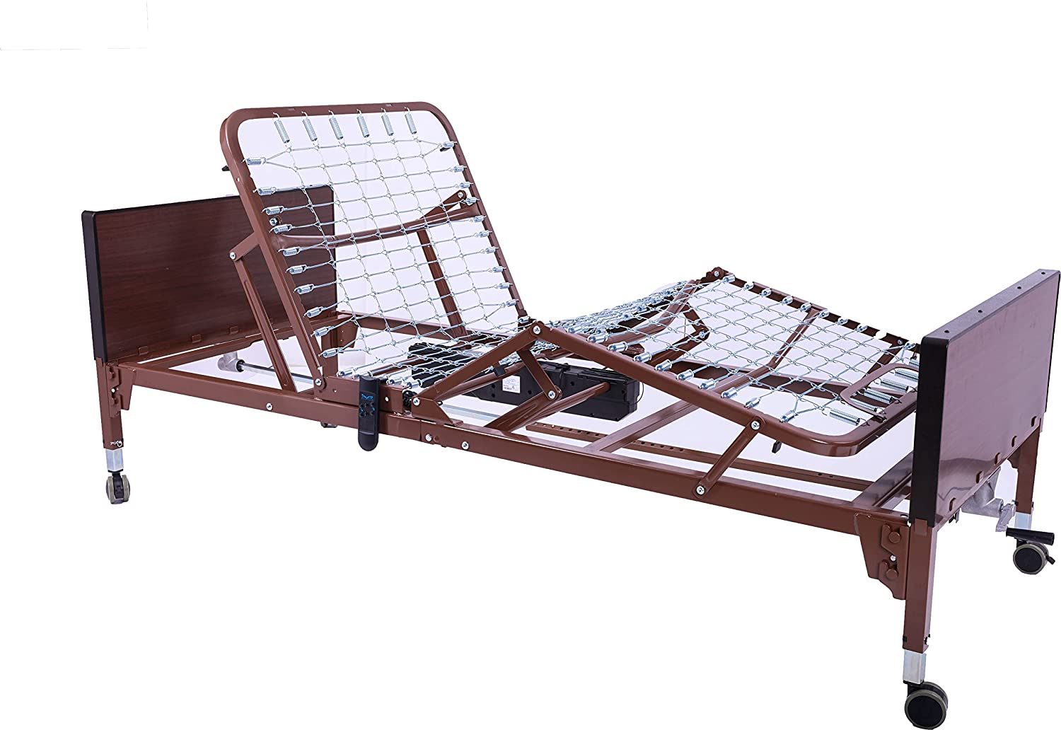 Invacare Value Care Homecare Bed | Semi-Electric Hospital Bed for Home Use