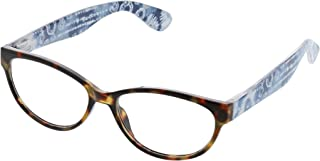 Peepers Women's Dream Weaver - Tortoise/Blue 2497150 Cateye Reading Glasses, Tortoise & Blue, 1.5