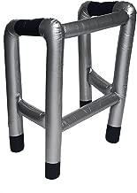 Henbrandt Gehhilfe für Verkleidungen, aufblasbar (Einheitsgröße) (Silber/Schwarz)