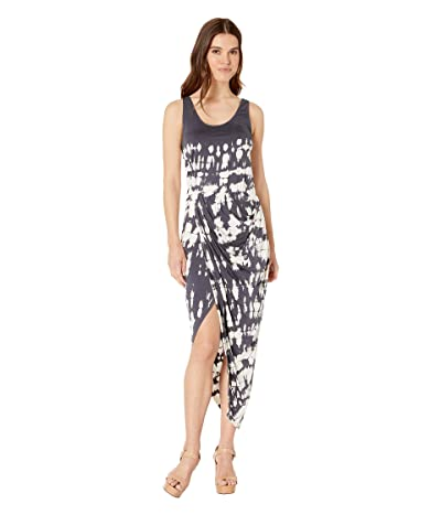 Young Fabulous & Broke Vine Dress (Black Sand Croc) Women