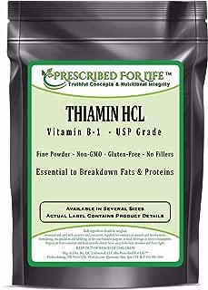 Thiamin HCL USP Grade Vitamin B-1 Powder, 2 oz