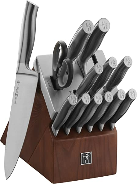 J A Henckels International Graphite 14 Pc Self Sharpening Block Set