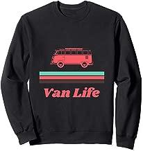 Vintage Mint & Coral Van Life  Sweatshirt