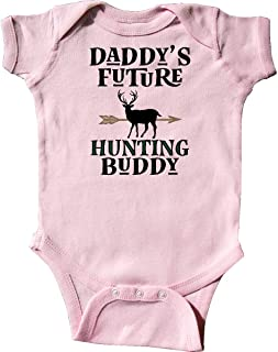 Daddy Future Hunting Buddy Infant Creeper