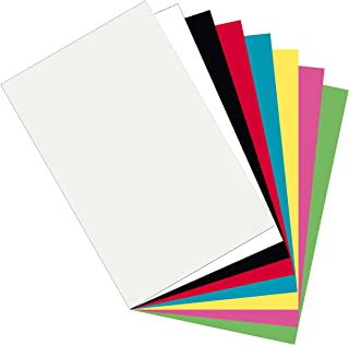 Pacon Plastic Art Sheets, Assorted 8 Colors, 11