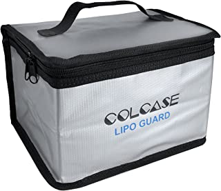 COLCASE Fireproof Explosionproof Lipo Safe Bag for Lipo Battery Storage and Charging ,..