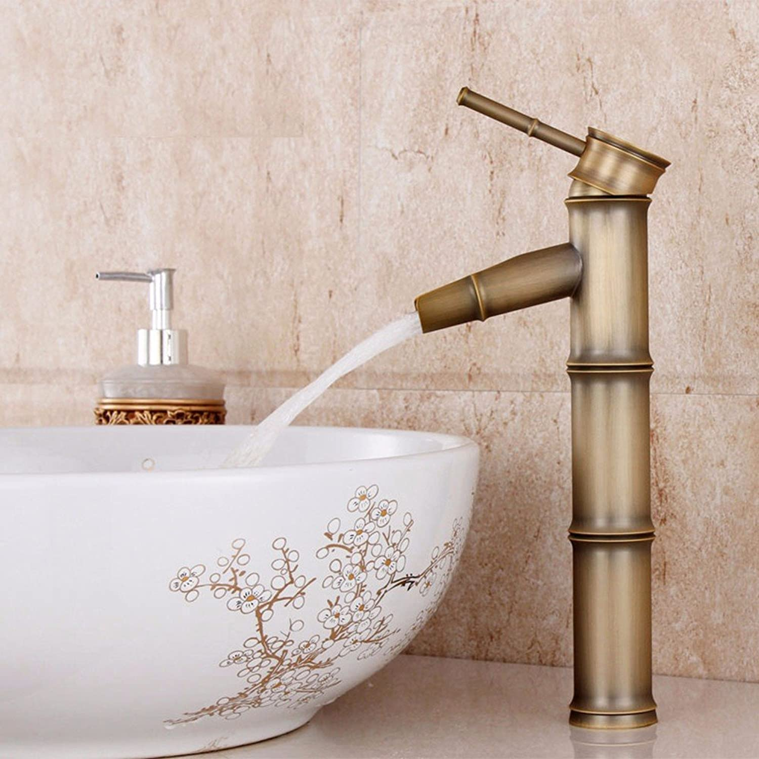 Hlluya Professional Sink Mixer Tap Kitchen Faucet Copper, hot and cold, the basin, single-cooled, single handle single hole sink Faucet 10